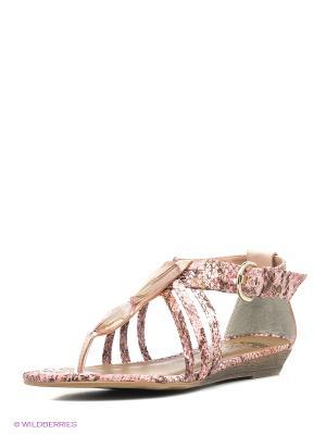 Сандалии Cravo&Canela. Цвет: розовый