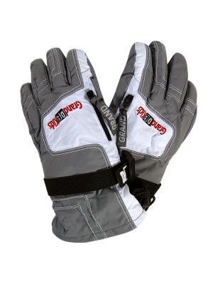 Перчатки GrandDEkids. Цвет: серый, белый, черный