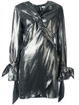 Платье Anabela Iro. Цвет: металлический