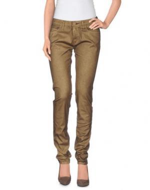 Повседневные брюки SHINE. Цвет: хаки