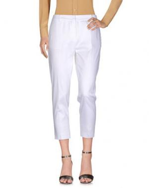 Повседневные брюки VIRIATO. Цвет: белый