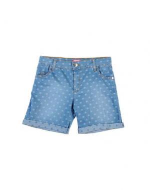 Джинсовые шорты FIORUCCI YOUNGWEAR. Цвет: синий