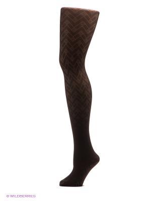 Колготки EUROMAMA. Цвет: темно-коричневый
