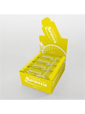 Углеводный гель Арена Первая со вкусом ананаса, 24 штуки в упаковке. Цвет: желтый