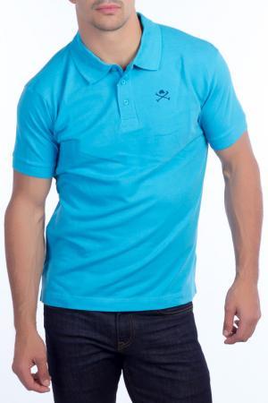 POLO SHIRT CLUB С.H.A.. Цвет: turquoise