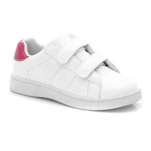 Кроссовки низкие с застежкой на планки-велкро R kids. Цвет: белоснежный/леопард
