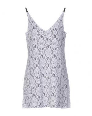 Короткое платье CARLA G.. Цвет: белый
