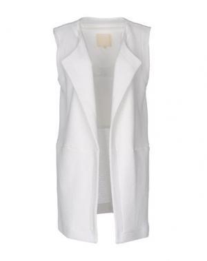 Легкое пальто TROU AUX BICHES. Цвет: белый