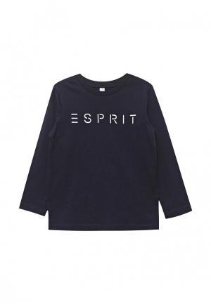 Лонгслив Esprit. Цвет: синий