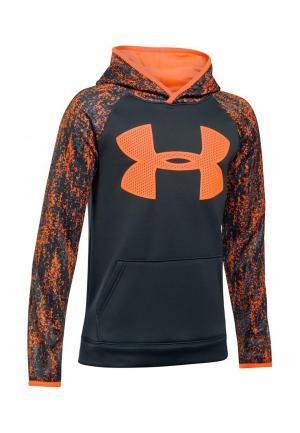Худи Under Armour. Цвет: оранжевый
