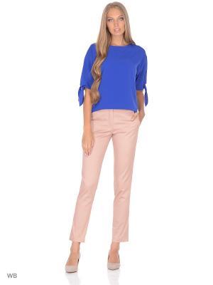 Блузка FLEURETTA. Цвет: синий