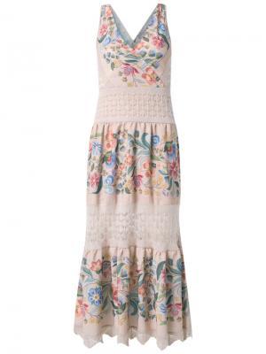 Knit dress Cecilia Prado. Цвет: розовый и фиолетовый