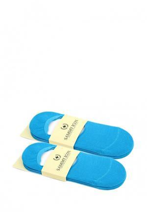 Комплект подследников 6 пар Sammy Icon. Цвет: голубой