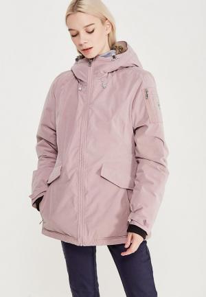 Куртка утепленная Luhta. Цвет: розовый