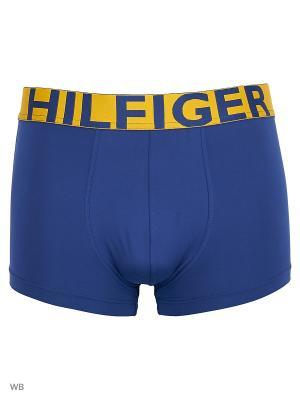Трусы Tommy Hilfiger. Цвет: синий, желтый