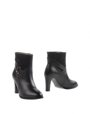 Полусапоги и высокие ботинки MYSUELLY. Цвет: черный