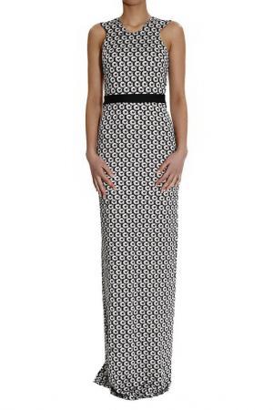 Платье Just Cavalli. Цвет: black and white
