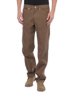 Повседневные брюки BROOKSFIELD. Цвет: какао