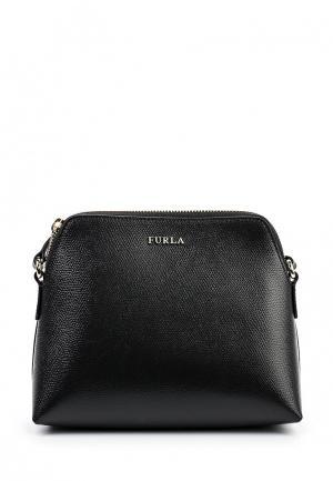 Комплект косметичка, кошелек и сумка Furla. Цвет: разноцветный