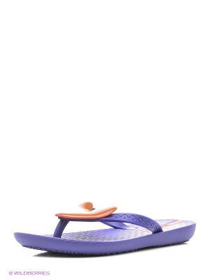 Пантолеты Ipanema. Цвет: фиолетовый, коралловый
