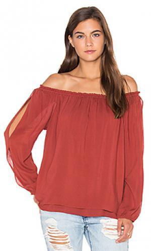 Блузка chantel Sanctuary. Цвет: красный
