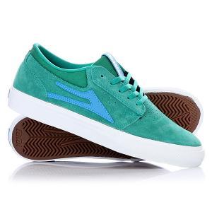 Кеды кроссовки низкие  Griffin Green/Blue Lakai. Цвет: зеленый