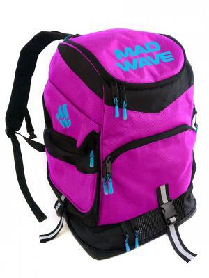 Рюкзак MAD TEAM Wave. Цвет: розовый, черный