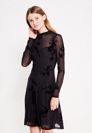 Платье Only. Цвет: черный