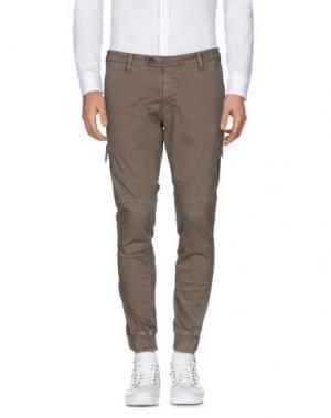 Повседневные брюки SSEINSE. Цвет: хаки