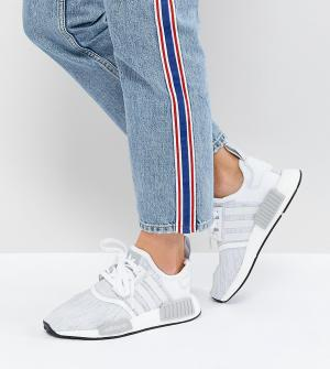 Adidas Originals Белые кроссовки NMD R1. Цвет: белый