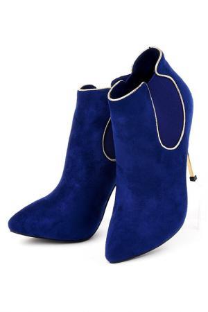 Ботильоны Vita Ricca. Цвет: синий