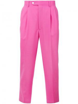 Укороченные брюки Lc23. Цвет: розовый и фиолетовый