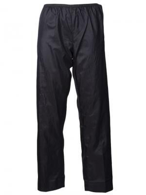 Пижамные брюки Dosa. Цвет: чёрный