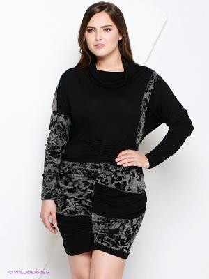 Платье Iconoclast. Цвет: черный, серый
