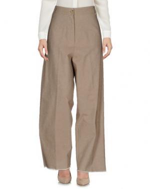 Повседневные брюки DANIELA PANCHERI. Цвет: песочный
