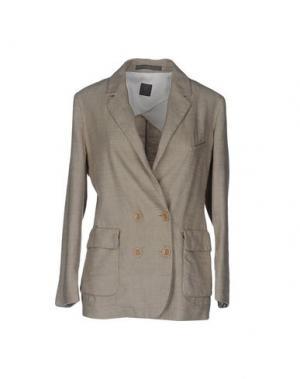 Пиджак 19.70 NINETEEN SEVENTY. Цвет: бежевый