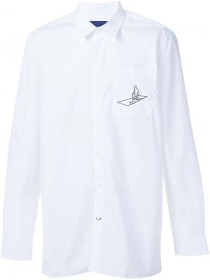 Рубашка  x Mark Gonzales Études. Цвет: белый