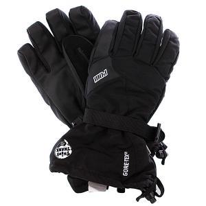 Перчатки сноубордические  Warner Glove Gtx Black Pow. Цвет: черный