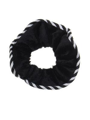 Резинка для волос Gusachi. Цвет: черный, белый