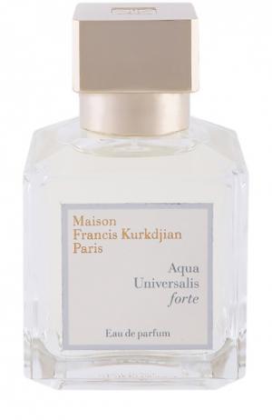Парфюмерная вода-спрей Aqua Universalis Forte Maison Francis Kurkdjian. Цвет: бесцветный