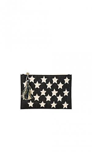 Клатч star KAYU. Цвет: черный