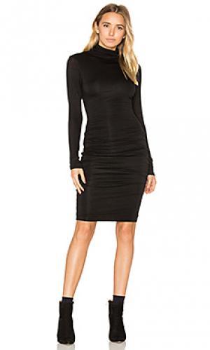 Платье миди lordes Velvet by Graham & Spencer. Цвет: черный