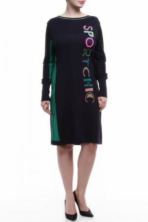 Платье Severi Darling. Цвет: синий