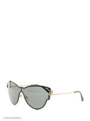 Очки солнцезащитные Versace. Цвет: золотистый