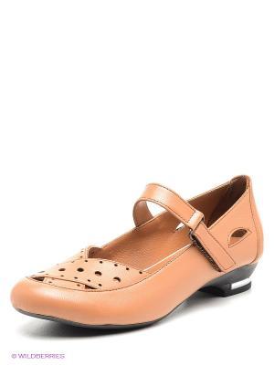 Туфли METROPOLPOLIS. Цвет: коричневый