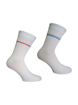Носки 2 пары Master Socks. Цвет: серый, белый