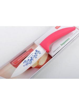 Нож кухонный MAYER-BOCH. Цвет: розовый