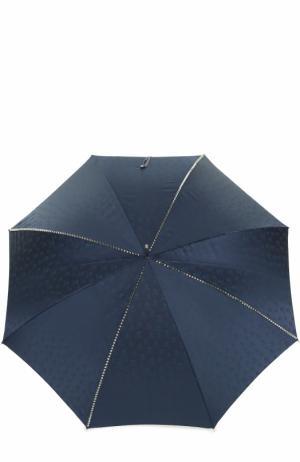 Зонт-трость Pasotti Ombrelli. Цвет: темно-синий