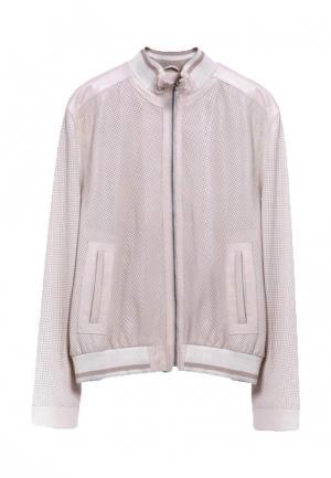 Куртка Interfino. Цвет: бежевый