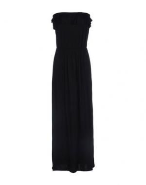Платье длиной 3/4 SISTERS POINT. Цвет: черный